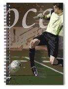 The Goalkeeper Spiral Notebook