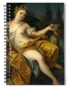 The Goddess Diana Spiral Notebook