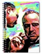 The Godfather - Marlon Brando Spiral Notebook