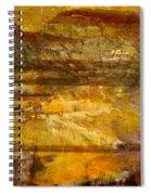 The Gold Light Spiral Notebook