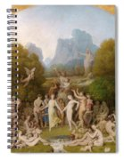 The Golden Age Spiral Notebook