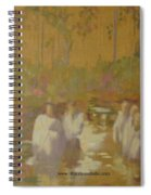 The Golden Baptism Spiral Notebook