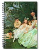 The Golden Butterfly. The Harvey Family Spiral Notebook