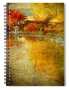 The Golden Dreams Of Autumn Spiral Notebook