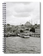 The Golden Horn Spiral Notebook