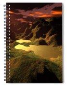 The Golden Lake Spiral Notebook