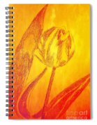 The Golden Tulip Spiral Notebook