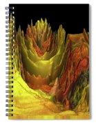 The Golden Valley Spiral Notebook