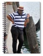 The Gondolier Spiral Notebook