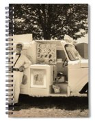 The Good Humor Man In Sepia Spiral Notebook
