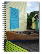 The Gordons Fisherman House Spiral Notebook