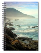 The Gorgeous California Coast Spiral Notebook