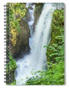 The Gorges Of The Langouette - 4 Spiral Notebook
