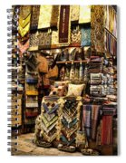 The Grand Bazaar In Istanbul Turkey Spiral Notebook