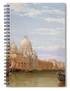 The Grand Canal - Venice Spiral Notebook