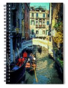 The Grand Canal Spiral Notebook