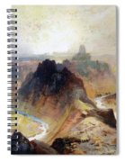 The Grand Canyo Spiral Notebook