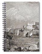 The Grand Harbour, Valetta, Malta After Spiral Notebook