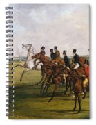 The Grand Leicestershire Steeplechase, March 12, 1829  The Start Spiral Notebook
