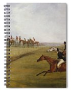 The Grand Leicestershire Steeplechase, March 12th, 1829 Spiral Notebook