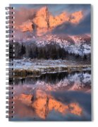 The Grand Teton Spiral Notebook