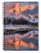 The Grand Teton Spiral Notebook