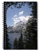 The Grand Tetons Lake Spiral Notebook