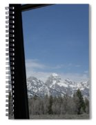 The Grand Tetons Spiral Notebook