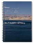 The Grand View Of Wahweap Bay Spiral Notebook