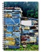 The Grateful Stone Wall Spiral Notebook