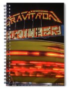 The Gravitron Spiral Notebook
