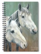 The Grays - Horses Spiral Notebook
