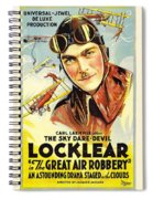 The Great Air Robbery 1919 Spiral Notebook