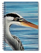 The Great Blue Heron Spiral Notebook