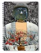 The Great Buddha Spiral Notebook