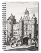 The Great Chatelet Of Paris. Principal Spiral Notebook