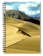 The Great Colorado Sand Dunes Color Print Spiral Notebook