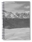 The Great Colorado Sand Dunes  Spiral Notebook