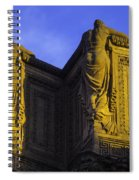The Great Palace Of Fine Arts Spiral Notebook