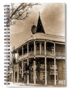 The Great Pine Cone Drop Spiral Notebook