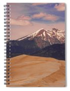 The Great Sand Dunes And Sangre De Cristo Mountains Spiral Notebook