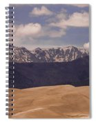 The Great Sand Dunes Panorama 1 Spiral Notebook