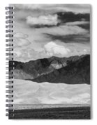 The Great Sand Dunes Panorama 2 Spiral Notebook
