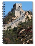 The Great Wall Mountaintop Spiral Notebook