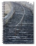 The Great Wall Steps Spiral Notebook
