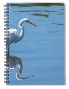 The Great White Fisherman Spiral Notebook