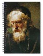 The Greek Priest Spiral Notebook