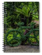 The Green Bicycle Spiral Notebook