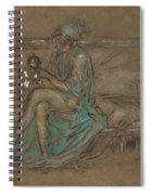 The Green Cap Spiral Notebook
