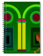 The Green Door Spiral Notebook